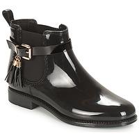 Schuhe Damen Boots André JAMES Schwarz