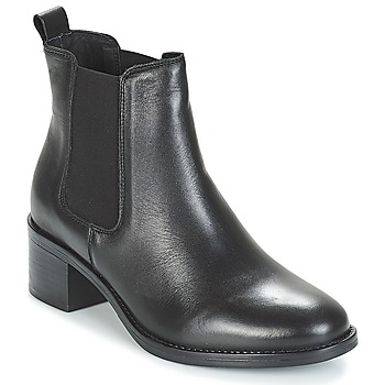 Schuhe Damen Boots André CRUMBLE Schwarz