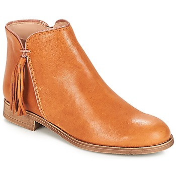 Schuhe Damen Boots André PAOLINE Braun