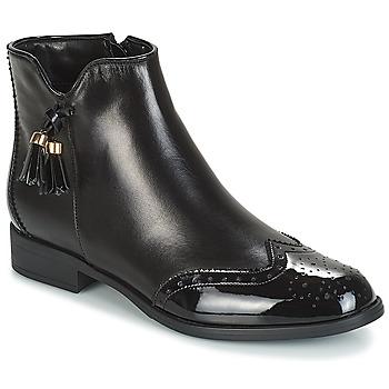 Schuhe Damen Boots André ALINA Schwarz