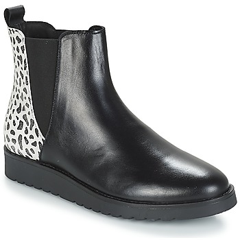 Schuhe Damen Boots André TRULY Schwarz