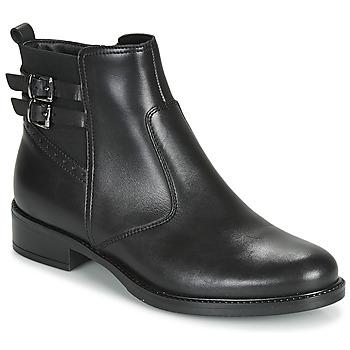 Schuhe Damen Boots André CARLIN Schwarz