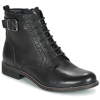 Schuhe Damen Boots André CHEPTELA Schwarz