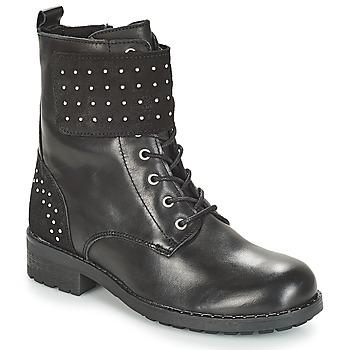 Schuhe Damen Boots André TAMAR Schwarz