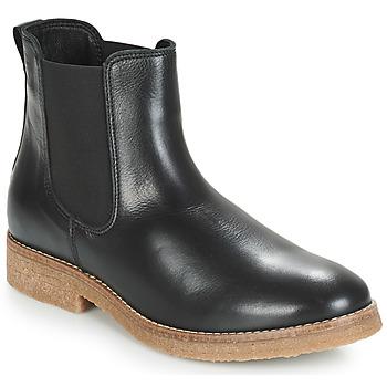 Schuhe Damen Boots André THELA Schwarz