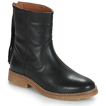 Schuhe Damen Boots André THEO Schwarz