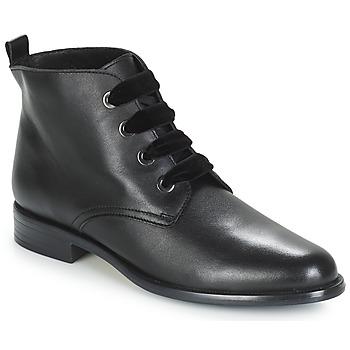 Schuhe Damen Boots André THAO Schwarz
