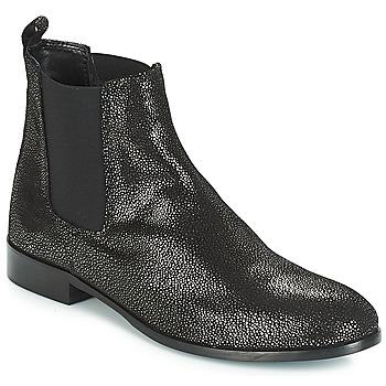 Schuhe Damen Boots André AGRIA Schwarz