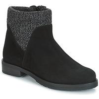 Schuhe Damen Boots André TRIAL Schwarz