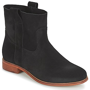 Schuhe Damen Boots André TITAINE Schwarz