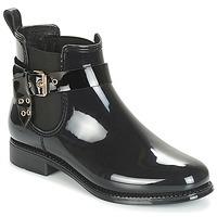 Schuhe Damen Gummistiefel André THAMES Schwarz
