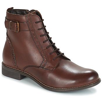 Schuhe Damen Boots André CHEPTELA Braun