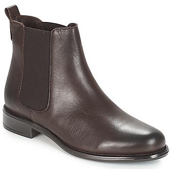 Schuhe Damen Boots André CARAMEL Braun
