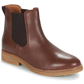 Schuhe Damen Boots André THELA Braun