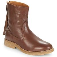 Schuhe Damen Boots André THEO Braun