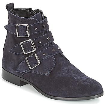 Schuhe Damen Boots André TIRA Marine