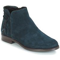 Schuhe Damen Boots André BILLY Blau