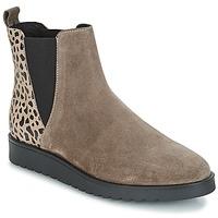 Schuhe Damen Boots André TRULY Beige