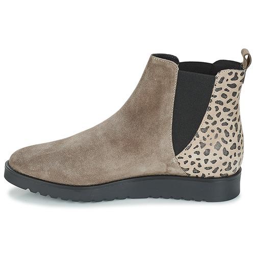 André TRULY Beige Beige Beige  Schuhe Stiefel Damen 6d4a85