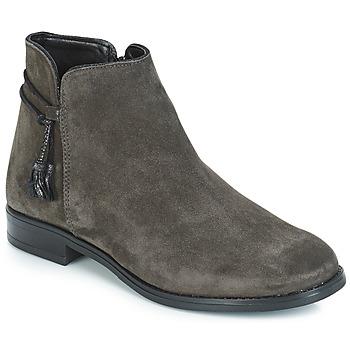 Schuhe Damen Boots André BILLY Grau