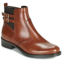 Schuhe Damen Boots André CARLIN Braun