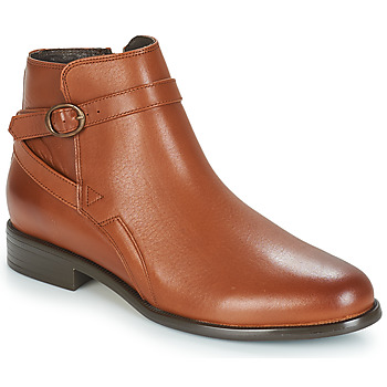 Schuhe Damen Boots André TACOS Braun