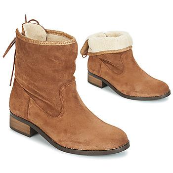 Schuhe Damen Boots André TELEX Braun