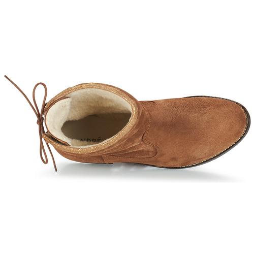 André TELEX TELEX TELEX Braun  Schuhe Stiefel Damen bc2655
