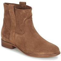 Schuhe Damen Boots André TITAINE Braun