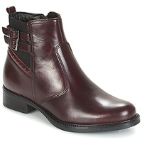 Schuhe Damen Low Boots André CARLIN Bordeaux
