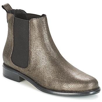 Schuhe Damen Boots André CARAMEL Bronze