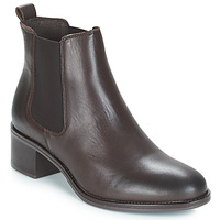 Schuhe Damen Low Boots André CRUMBLE Braun