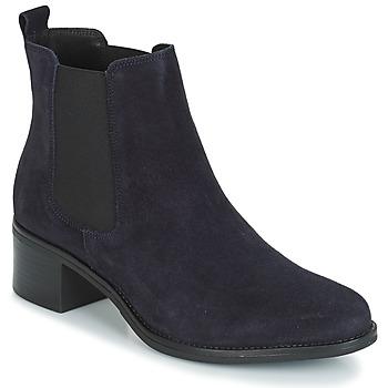 Schuhe Damen Low Boots André CRUMBLE Marine