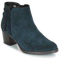 Schuhe Damen Low Boots André MISTINGUETTE Blau
