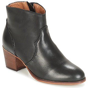 Schuhe Damen Low Boots André TORFA Schwarz