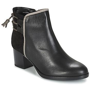 Schuhe Damen Low Boots André TIRON Schwarz