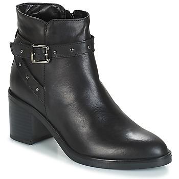Schuhe Damen Low Boots André FRENCHY Schwarz