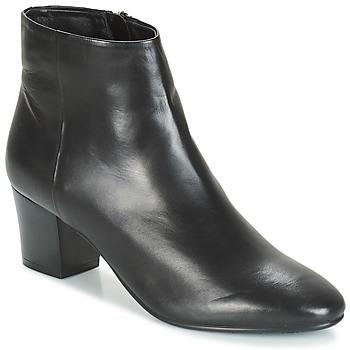 Schuhe Damen Boots André FAME Schwarz
