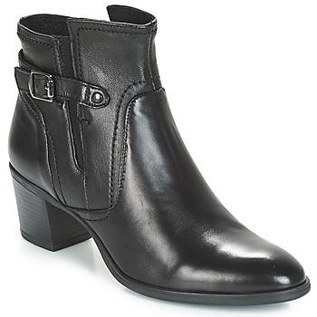 Schuhe Damen Boots André CALFA Schwarz