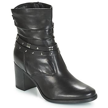 Schuhe Damen Boots André TOCSIN Schwarz