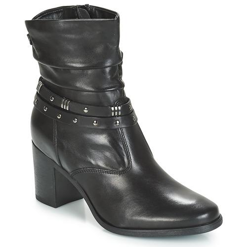 André TOCSIN Schwarz  Schuhe Boots Damen