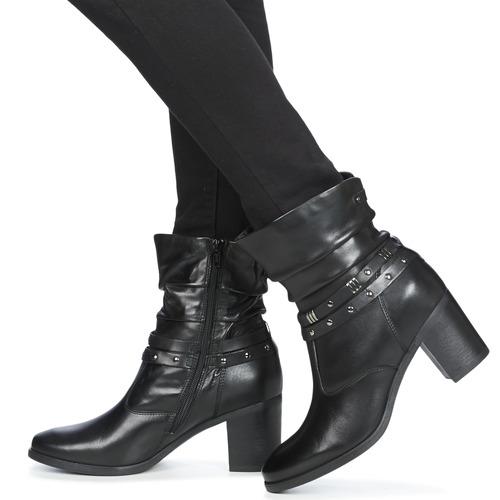 André TOCSIN Schwarz  Schuhe Boots Boots Boots Damen a35963