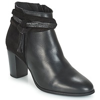 Schuhe Damen Low Boots André TIARA Schwarz