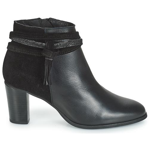 André Tiara Schwarz - Kostenloser Versand Schuhe Low Boots Damen 71