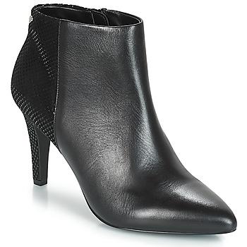 Schuhe Damen Low Boots André FONTANA Schwarz