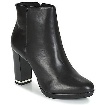Schuhe Damen Low Boots André FRANCA Schwarz