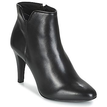 Schuhe Damen Low Boots André FARA Schwarz