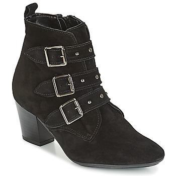 Schuhe Damen Low Boots André TRACY Schwarz