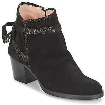 Schuhe Damen Low Boots André ADENE Schwarz