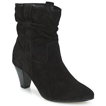 Schuhe Damen Boots André FANFAN Schwarz